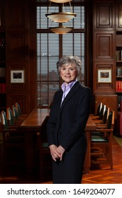 OTTAWA, CANADA - May 21, 2013: Chamber Portrait session of Beverley McLachlin, The first woman to be Chief Justice of Canada, as well as the longest standing in history.