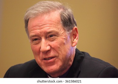 OTTAWA, CANADA - JULY 3, 2013: Archbishop Fred Hiltz is Primate of the Anglican Church of Canada.