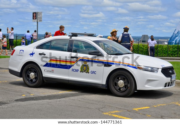 OTTAWA, CANADA, JUNE 30:Car of theThe Royal Canadian Mounted Police RCMP French: Gendarmerie royale du Canada, is both a federal and a national police force of Canada on june 30 2013 in Ottawa Canada.