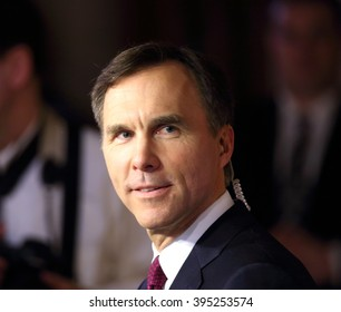 OTTAWA, CANADA   MARCH 22, 2016: Bill Morneau is finance minister in the Liberal government of Prime Minister Justin Trudeau.