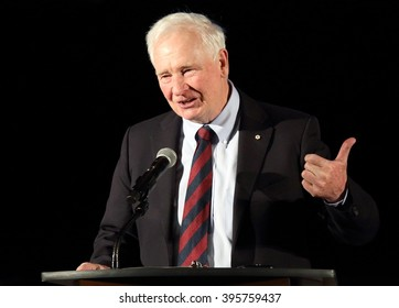OTTAWA, CANADA  ?? MARCH 22, 2016: David Johnston is the 28th Governor General of Canada.
