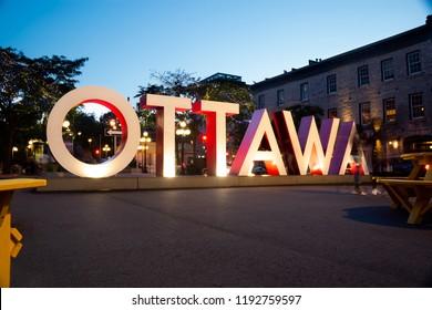 Ottawa giant letters
