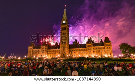 ottawa ontario canada august 2017 spectacular stock photo edit now