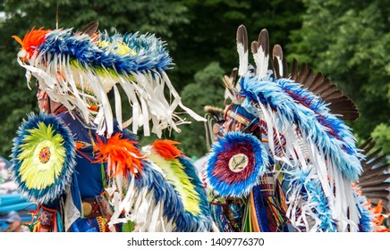 Ottawa, Ontario, Canada- June 22, 2018, Summer Solstice Pow Wow Indigenous Festival of First Nations People