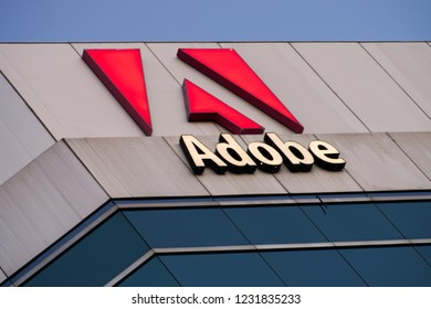 Ottawa, Ontario / Canada - November 10, 2018: Adobe headquarters in Ottawa, Canada