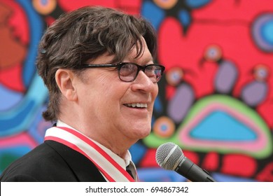 "OTTAWA, ONTARIO - MAY 27, 2011: Legendary guitarist and songwriter Robbie Robertson recorded several hit albums with ""The Band,"" a popular American-Canadian rock group of the 60s and 70s."