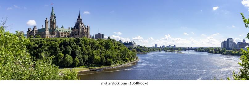 Ottawa Parliament Hill Panorama