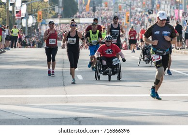 OTTAWA - SEPTEMBER 17, 2017: Canada Army Run is held annually to draw participants from all walks of life in the spirit of camaraderie and community.