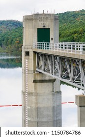 Otter Brook Dam provides flood protection for towns around Keene, New Hampshire