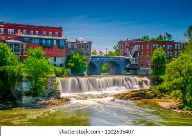 Otter Creek Falls in Middlebury, VT
