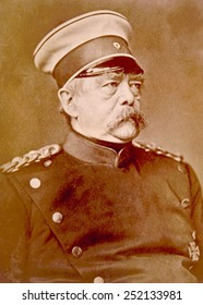 Otto von Bismarck (1815-1898), Chancellor of Germany, known as the Iron chancellor, ca. 1880