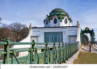 Otto Wagner Hofpavillon Hietzing, art nouveau in Vienna