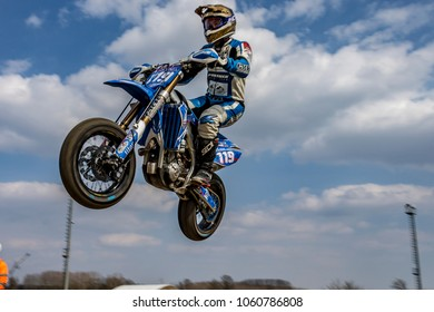 Similar Images Stock Photos Vectors Of Jumping Motocross