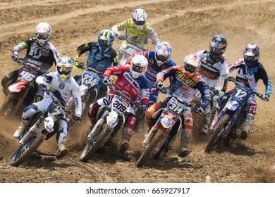 Similar Images Stock Photos Vectors Of Motocross Rider In