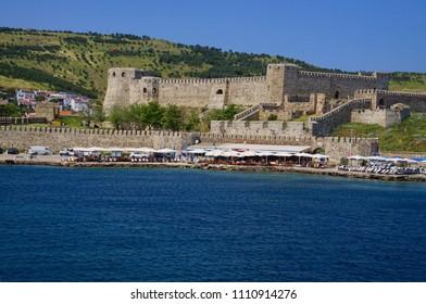 Ottoman era fortress on island of Bozcaada, Turkey