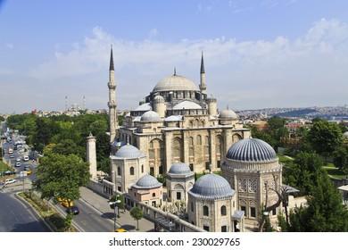 Ottoman mosque in Istanbul ,Turkey