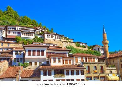 The ottoman town of Berat, Albania,