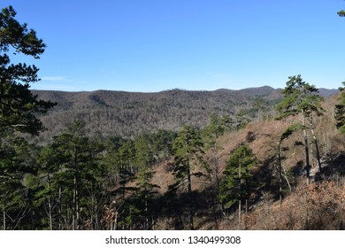 Ouachita Mountains in Ouachita National Forest Arkansas
