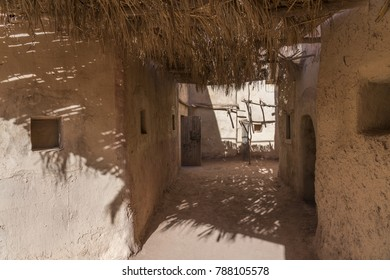 Ouarzazate, Morocco - December 27, 2017: Atlas Movie Studios sets where movies as Ben Hur, Jewel of the Nile and Lawrence of Arabia were produced.