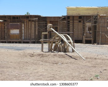"""Ouarzazate / Morocco - May 28, 2016: Atlas Film Studios is the largest film studio in the world. Set used in French movie """"Asterix & Obelix: Mission Cleopatra""""."""