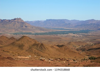 Ouarzazate Valley, Morocco, Africa