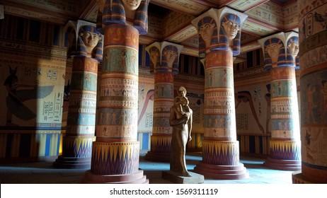 Ouarzazate/Morocco- 11 Jan 2019: Atlas Film Studios set where many movies/TV where filmed, e.g. GOT, Jewel of the Nile, Aladdin, The Mummy, Gladiator