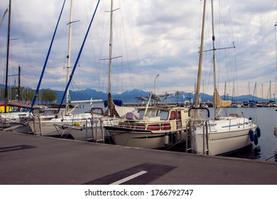 Ouchy is a port and a popular lakeside resort south of the centre of Lausanne in Switzerland, at the edge of Lake Geneva.