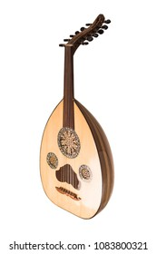 Oud isolated - music instrument