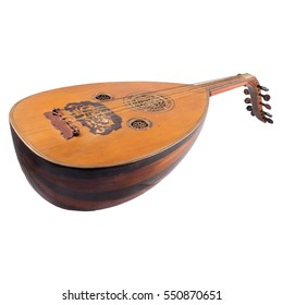 Oud Middle Asian String Musical Instrument