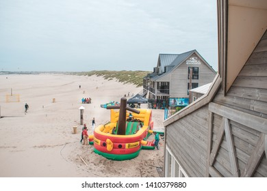 Ouddorp / The Netherlands - May 26 2019: The opening of the O'Neill Beachcenter t the Brouwersdam in Ouddorp, the Netherlands