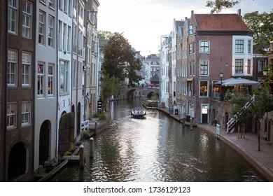 Oude Gracht Utrecht, Netherlands, september 2019