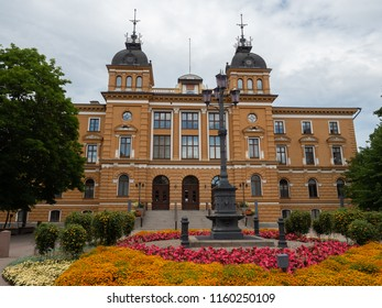 Oulu, Finland - July 26, 2018: Image of the City Hall of the Finnish city of Oulu.