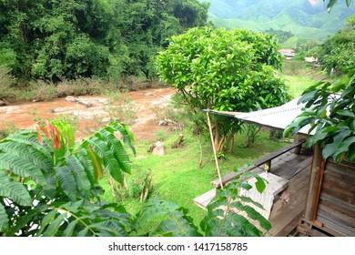 Oun I Mang Homestay in Bo Kluea District, Nan Province , Thailand.