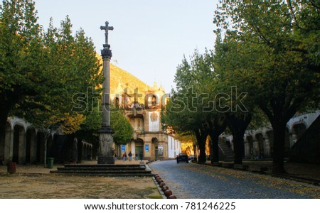 Our Lady of Abadia church in Terras de Bouro, north of Portugal