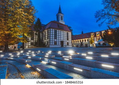 Our Lady of Czestochowa Church in Zielona Gora. Zielona Gora, Lubusz, Poland. - Shutterstock ID 1848465316
