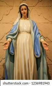 Our lady of grace catholic statue