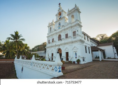Our Lady of Immaculate Conception Church in Panjim - one of oldest churches in Goa (1540). Panjim (Panaji) - capital of Indian state of Goa and headquarters of North Goa district.