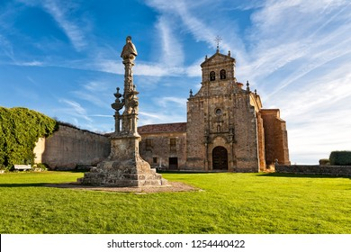 Our Lady of Miron church in Soria. Castilla Leon. Spain. Europe.