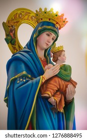 Our lady of perpetual help catholic statue