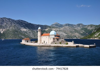 Our lady of the Rock, Perast, Kotor Bay, Montegro