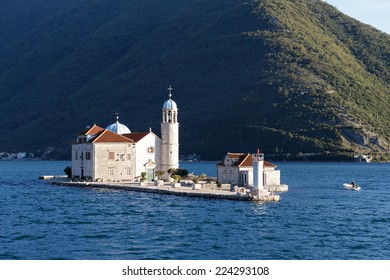 Our Lady of the Rocks (Gospa od Skrpjela) is island and church near Perast in the Bay of Kotor (Boka Kotorska), Montenegro
