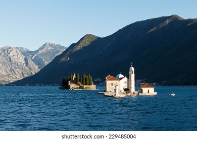 Our Lady of the Rocks (Gospa od Skrpjela) is island and church near Perast in the Bay of Kotor (Boka Kotorska) and Island of Saint George, Montenegro