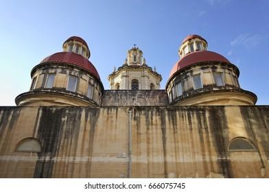 Our Lady of the Sacred Heart Parish Church in Sliema (Tas-Sliema). Malta island