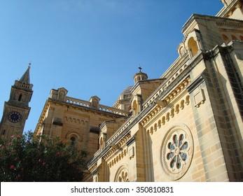 Our Lady of Ta' Pinu Sanctuary, Gharb, Gozo, Malta, Europe