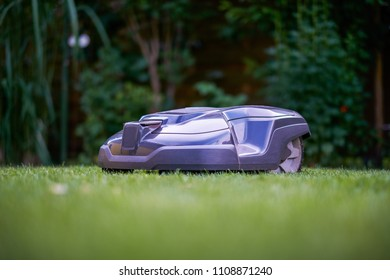 our robot mows the lawn shortly