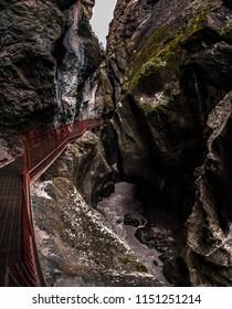 Ouray Box Canyon Waterfall