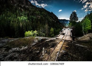 Ouray District Michael Breen Mine Mt Monarch Colorado USA