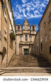 Ourense, Spain. Church of Santa Maria