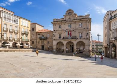 OURENSE, SPAIN - JUN 13, 2017: City Hall