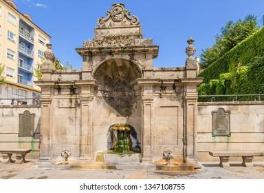 OURENSE, SPAIN - JUN 13, 2017: Thermal source